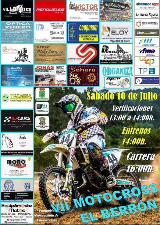 MOTOCROSS EL BERRÓN – 10 DE JULIO 2021