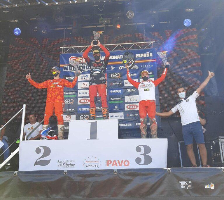Pablo Gutiérrez Solís roza el podio en el Europeo de MX.